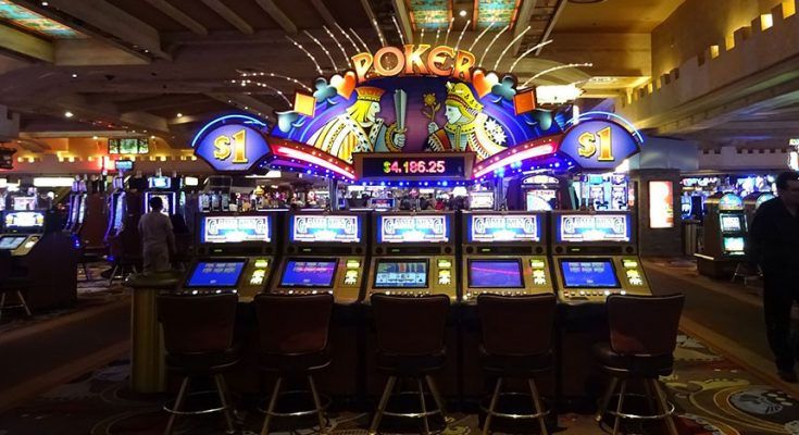 postimage SkyCityatRiskofProfitLossDuetoOffshoreGambling pokermachines 735x400 - SkyCity at Risk of Profit Loss Due to Offshore Gambling